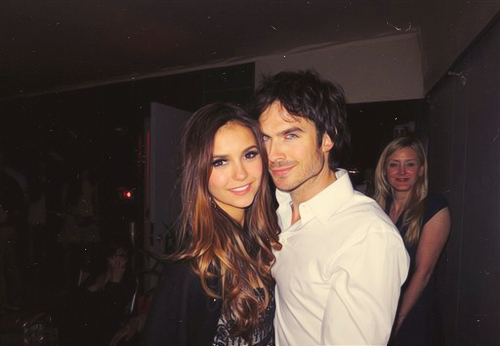-sexyhalder:  Nina & Ian at CW Upfront Party