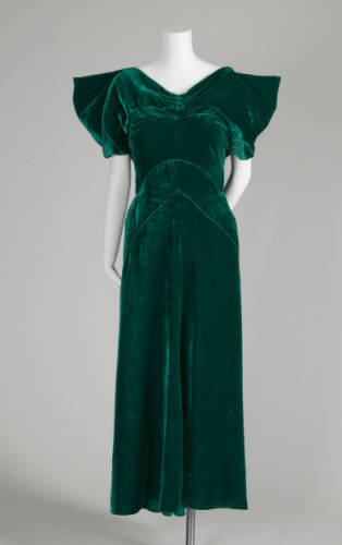 Dress Lucien Lelong, 1934 The Chicago History Museum