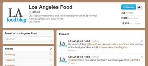 Thanks for the support, LA Food Blog!