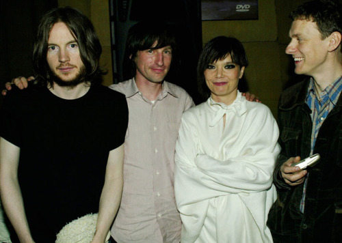 Chris Cunningham, Spike Jonze, Bjork and Michel Gondry