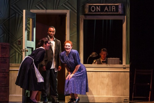 "Photo from the UC Irvine Opera, ""Old Maid & the Thief"" Photo courtesy of Paul Kennedy."