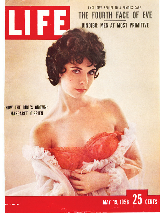 "Love looking at old LIFE magazines. I'm not sure what to make of the cover girl, but I'm particularly intrigued by the headline up top: ""Men At Most Primitive"" is certainly not a 21st-century way to say, ""White dudes intruded upon previously undisturbed, self-sufficient aboriginals.""   life:  On this day in LIFE Magazine — May 19, 1958: How the Girl's Grown: Margaret O'Brien"