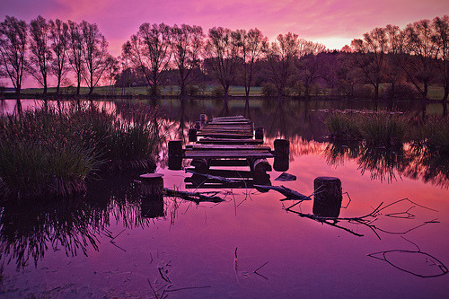 lori-rocks: 5:34 p.m. - Bavaria, Egelsee@dawn #2 (by Dennis' Photography)