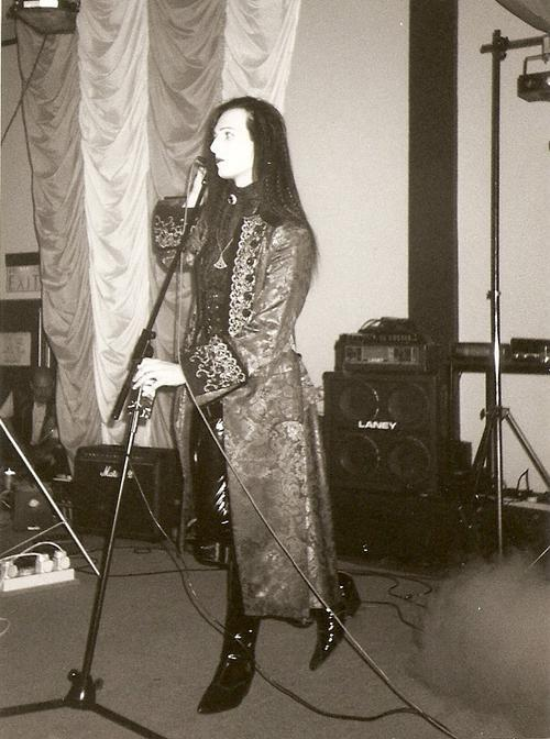 Matthew Carl Lucian (Suspiria) - Picture taken at Whitby Gothic Weekend, 1995