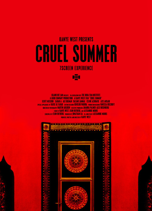 "Kanye West will debut a short film titled ""Cruel Summer"" at the Cannes Film Festival. The rapper announced Friday that he'll present the film on Wednesday at the French festival. West and his creative collective DONDA will screen the ""short art film"" out of competition in Cannes. West's press release promises ""a fusion of short film and art installation"" and an ""immersive seven-screen experience."" It will remain open to the public for two days following its premiere."