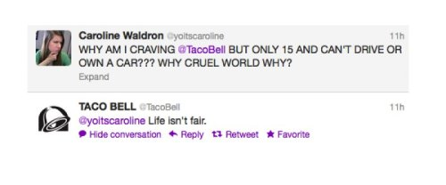 "Taco Bell Drops a Truth Bomb on Twitter ""Also, everyone you love will one day die."" - Taco Bell"