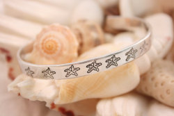"""Seven Lucky Starfish Bracelet"" by Beach House Living on Etsy"