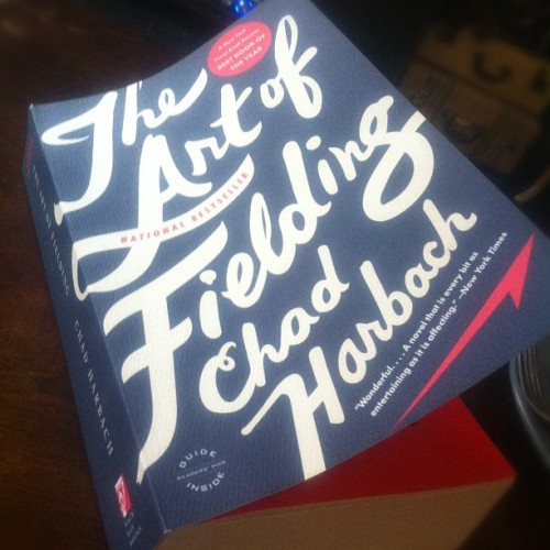 Started reading The Art of Fielding today. (Taken with instagram)