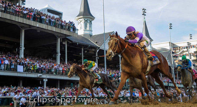 I'll Have Another wins the 2012 Kentucky Derby!