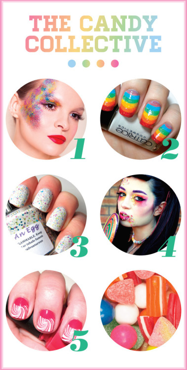 Happy Friday! We've got a sweet treat for you: candy-inspired beauty!