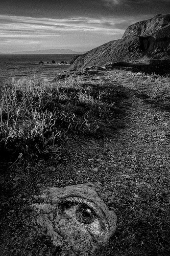 Eye On The Path (by Guerrewhoa) Inspired by Jerry Uelsmann