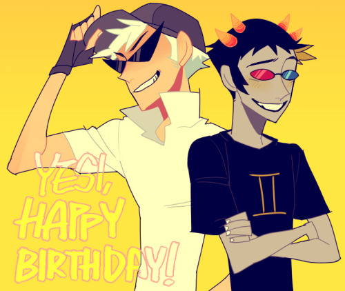 neukgol-hsfanarts:  HAPPY BIRTHDAY! giftart for Yesi<3  haha. it's your fav characters! ;)