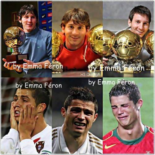 ... Me As I Am !! =) - Lionel Messi VS Christiano Ronaldo, Haha it's
