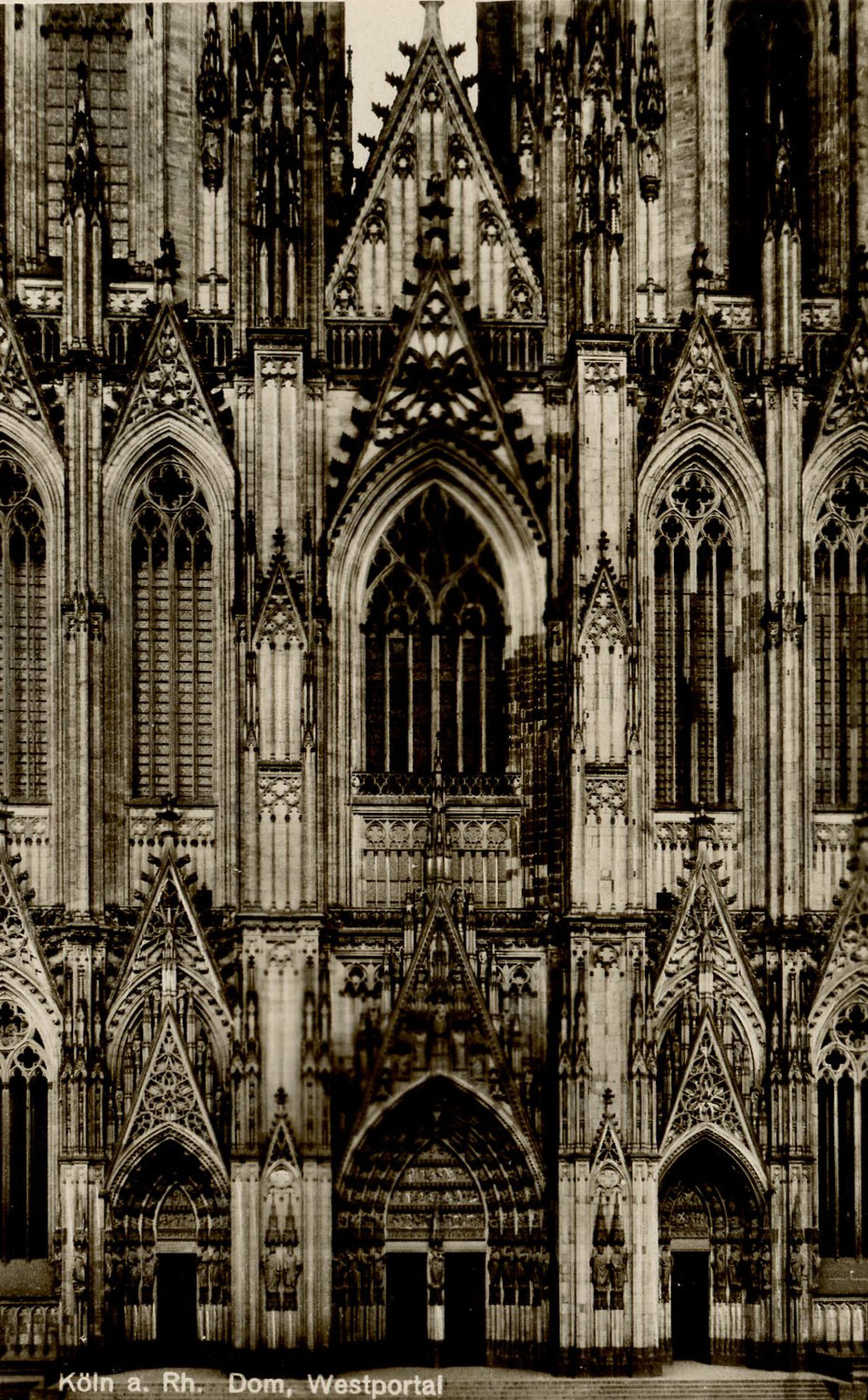 Cologne Cathedral, Germany (1248-1880)