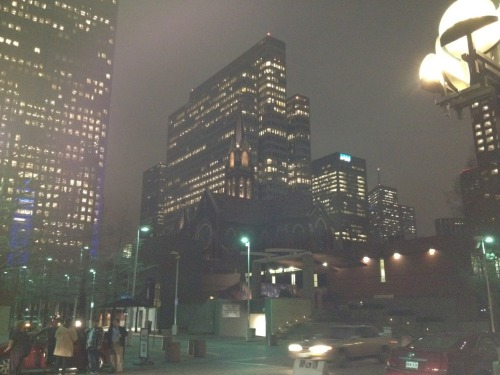 Dallas Texas. Crappy shot. Winter 2011