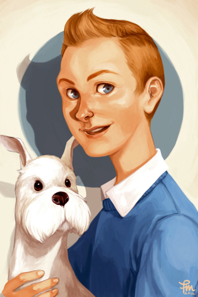 Tintin and Milouby *flominowa