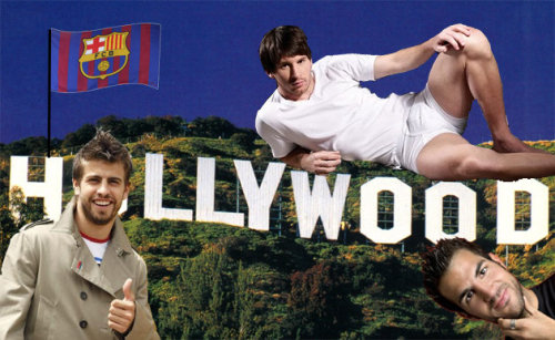"""Hollywood to make movie about Barcelona""                                                                      -Via Dirty Tackle"