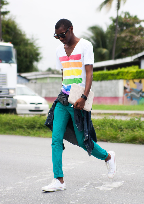 "blackfashion:  ""It's Been A Long Road, But Summer's Here!"" by Barrio Dimitri BLOG 