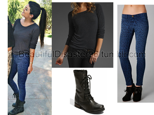 Top: Revolve clothing Jeans: Shopbob (Other options: LYST, Forever21 and Forever21) Shoes: Steve Madden
