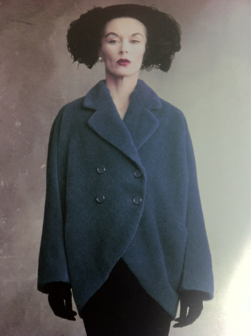 Lisa FONSSAGRIVES-Penn in BALENCIAGA, Circa 1950………No.1