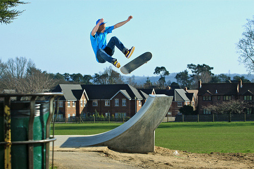 I need to go back to Petersfield Skatepark sometime soon!