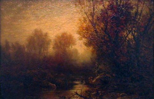 William Hart, Autumn (Landscape), 1875. Kemper Art Museum