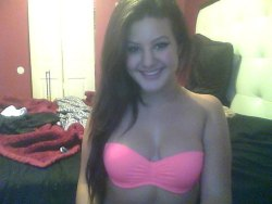 "Finallly got my bathing suit top!!! No one cares though, lol :""')"
