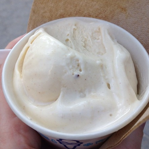 Banana bread frozen custard aka heaven in a cup (Taken with Instagram at Shake Shack)