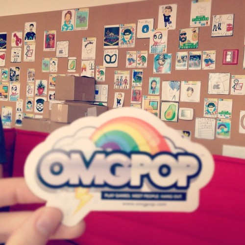 Office of OMGPOP, creator of draw something (Taken with instagram)