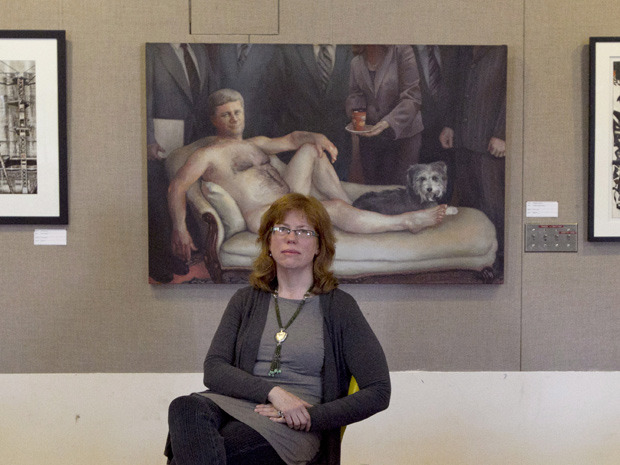 Q&A: Chief Librarian Patricia Enright on the nude portrait of Canada's prime minister in Kingston's library