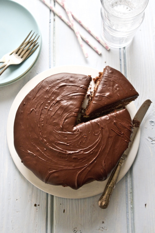 neekaisweird:  Chocolate Birthday Cake