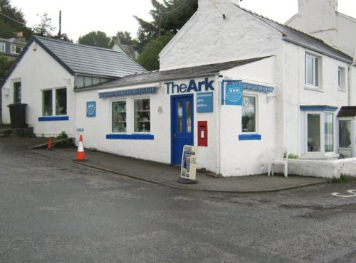 Village shop, Kippford, Dumfries & Galloway, Scotland