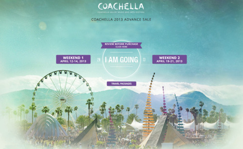 Coachella 2013…let the countdown begin. Had this since the presale…never published it. See you in the Cali dessert.