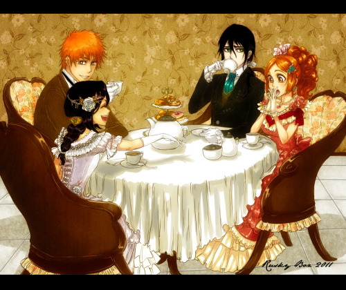 rukiakuran:  Tea Party!! By Rusky-Boz