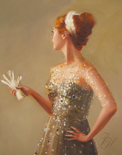 quienesesachica:  The Lady Never Liked Having Her Portrait Painted by Janet Hill