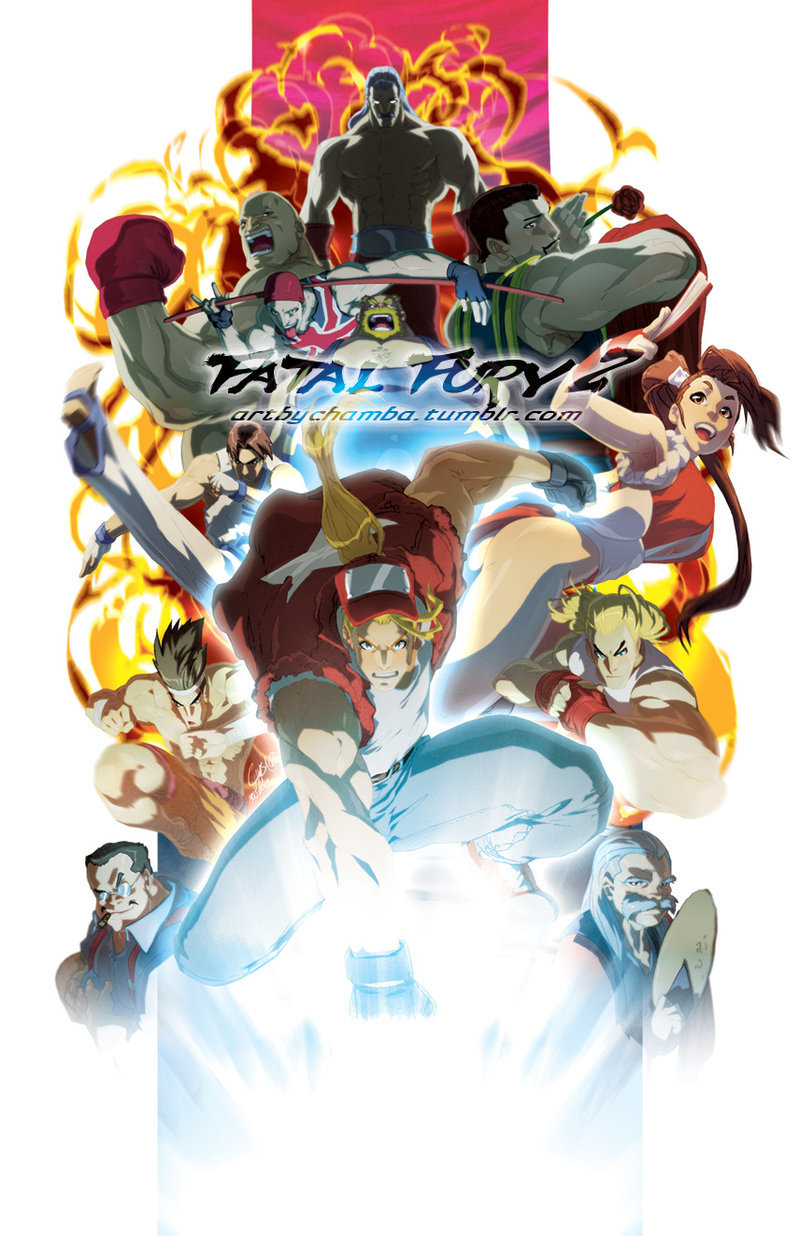 Fatal Fury 2.Possible 2012 Convention print.