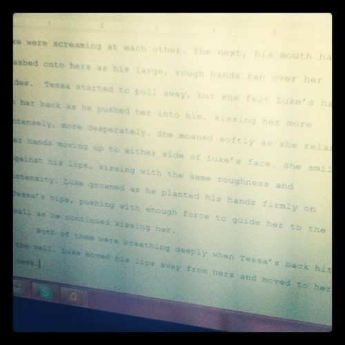 I'm finally #writing again! And it's actually coherent and fluid thought. #personal #proud  (Taken with instagram)