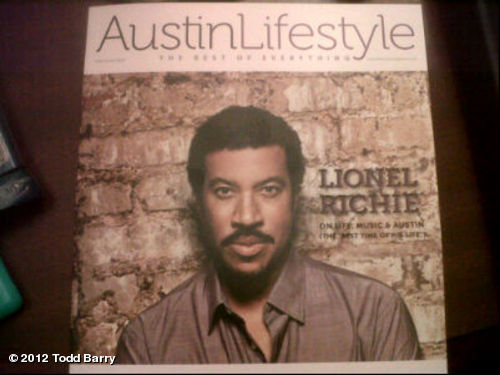 I would've liked to been on the cover, but this guy better sums up the Austin lifestyle.View more Todd Barry on WhoSay