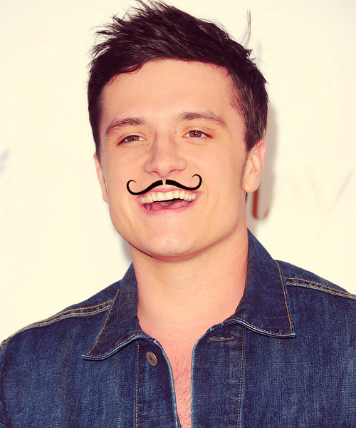 5/5 pictures of Josh Mustache Hutcherson