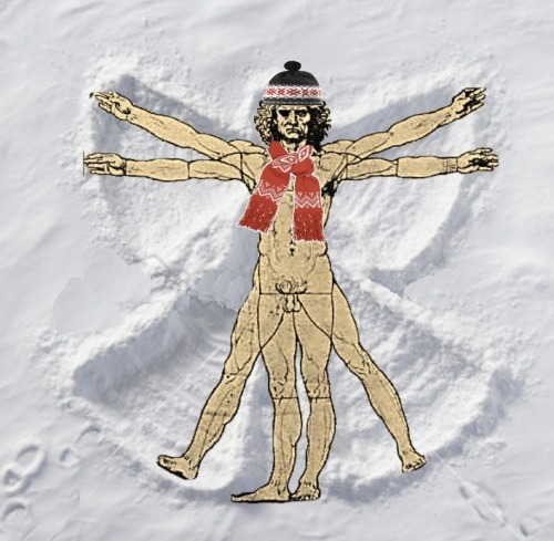 Da Vinci Snow Angels