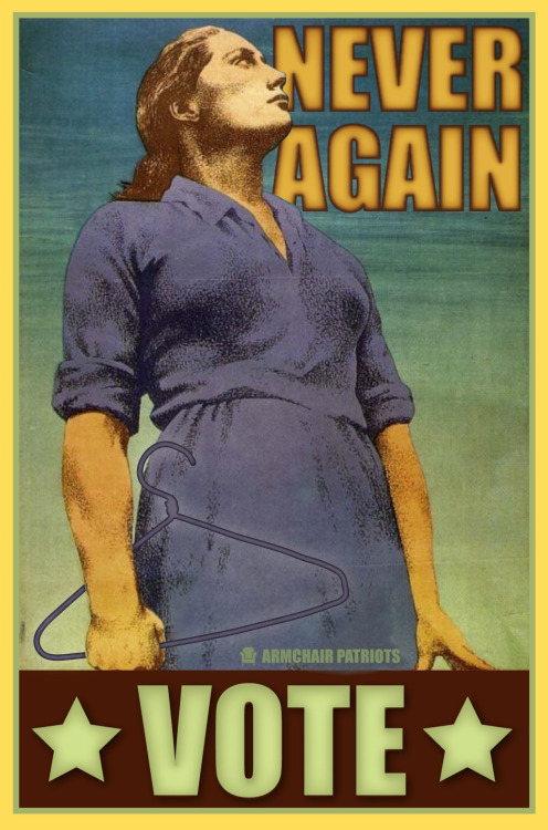 Never Again. Please vote. More Liberal Propaganda on facebook»> https://www.facebook.com/pages/Armchair-Patriots/173343349350173