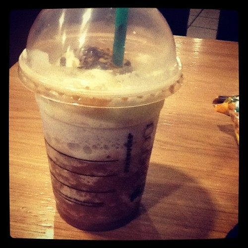 😍😍😍😍 #Starbucks coconut mocha frap.  (Taken with instagram)