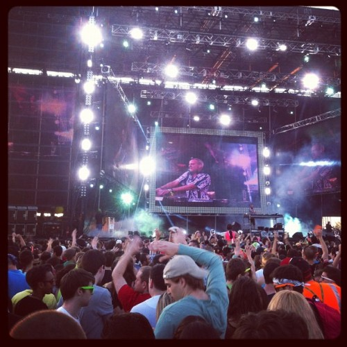 Fatboy Slim.  (Taken with instagram)
