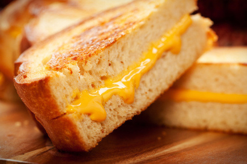 prettygirlfood:  Grilled Cheese