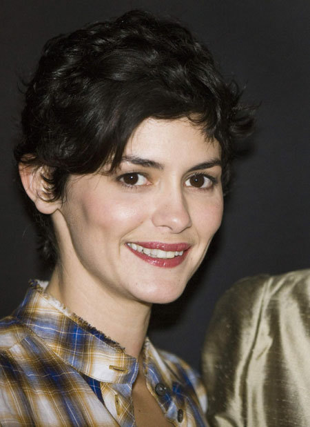 Audrey Tautou at premiere of Coco avant Chanel in Geneva
