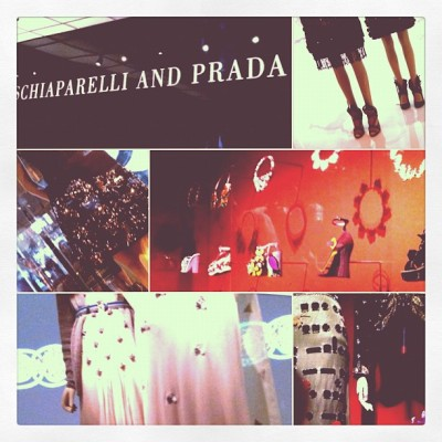 schiaparelli & prada: impossible conversations @ the met can't stop me from taking pics