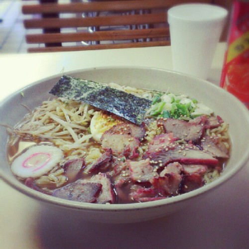 #ramen #noodle at KoKo kitchen with #chasiu #pork  (Taken with instagram)