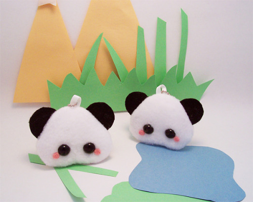 "Available in my online shop here!""Pudding Pandas live in the mountain regions of Pudding China. They like to munch munch munch on stacks of pudding bamboo. Pandas are solitary creatures and do not tolerate other pudding pandas infiltrating their territory, grr!"""