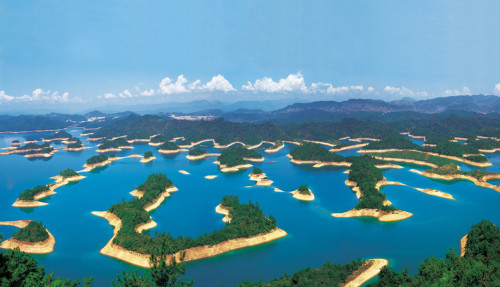 Thousand Island Lake, China