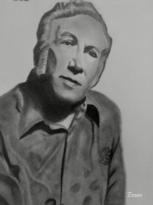 Nizar Qabbani my drawing :)